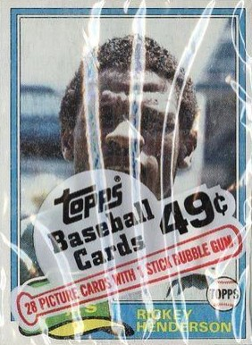 1980-1989 Unopened Packs (1980's)   #81TCP Baseball Card