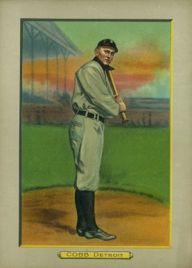 1911 Turkey Reds Ty Cobb #9 Baseball Card