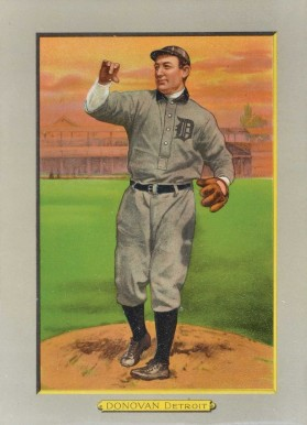 1911 Turkey Reds DONOVAN, Detroit #12 Baseball Card