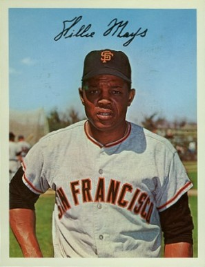 1967 Dexter Press Premiums Willie Mays # Baseball Card