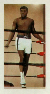 1971 Barratt & Co. LTD. Muhammad Ali #24 Boxing & Other Card