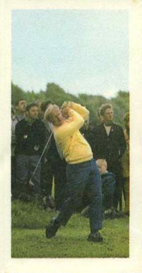 1971 Barratt & Co. LTD. Jack Nicklaus #6 Boxing & Other Card
