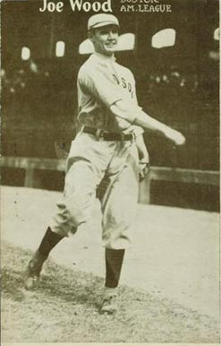 1909-1916 Max Stein Postcards Joe Wood #18 Baseball Card