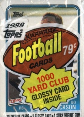1980-1989 Unopened Packs (1980's)   #88Tcp Football Card