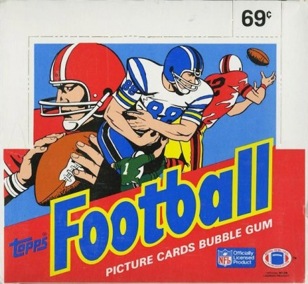 1980-1989 Unopened Packs (1980's)   #86Tcb Football Card
