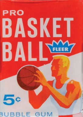 Pre-1970 Unopened Packs   #61Fwp Basketball Card