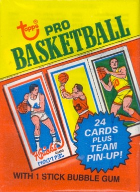 1980-89 Unopened Packs   #80WP Basketball Card