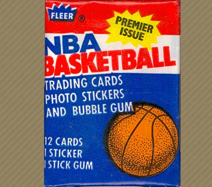 1980-89 Unopened Packs   #86FWP Basketball Card