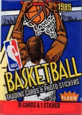 1980-89 Unopened Packs   #89Fwp Basketball Card