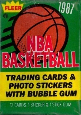 1980-89 Unopened Packs   #87Fwp Basketball Card