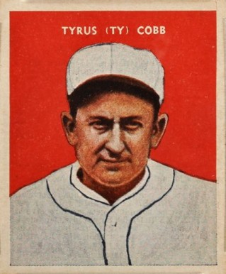 1932 U. S. Caramel Ty Cobb #14 Baseball Card