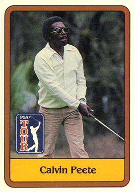 1981 Donruss Golf Calvin Pete #42 Boxing & Other Card