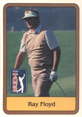 1981 Donruss Golf Ray Floyd #10 Boxing & Other Card