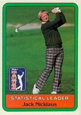 1981 Donruss Golf Jack Nicklaus #Jack-stat Boxing & Other Card