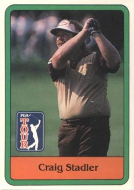 1981 Donruss Golf Craig Stadler #8 Boxing & Other Card