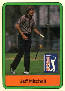1981 Donruss Golf Jeff Mitchell #37 Boxing & Other Card
