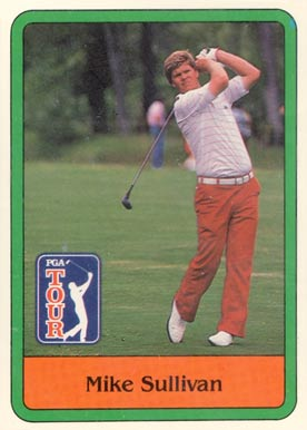 1981 Donruss Golf Mike Sullivan #22 Boxing & Other Card