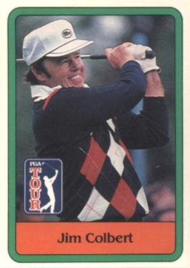 1981 Donruss Golf Jim Colbert #21 Boxing & Other Card
