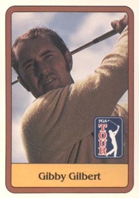 1981 Donruss Golf Gibby Gilbert #40 Boxing & Other Card