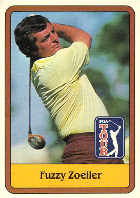 1981 Donruss Golf Fuzzy Zoeller #46 Boxing & Other Card