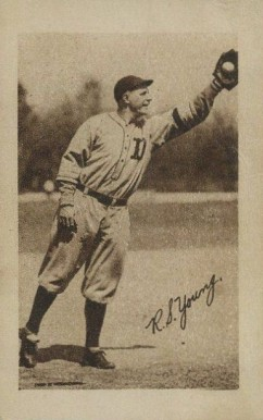 1923 Willard Chocolate Ross Youngs #179 Baseball Card