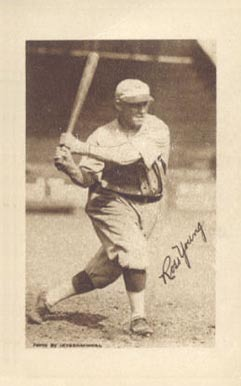 1923 Willard Chocolate Ross Youngs #180 Baseball Card