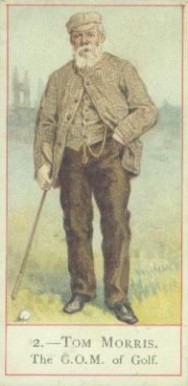 1900 Cope Golfers Tom Morris #2 Boxing & Other Card