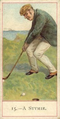 1900 Cope Golfers A Stymie #15 Boxing & Other Card