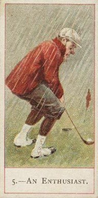 1900 Cope Golfers   #5 Boxing & Other Card