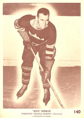 1940 O-Pee-Chee Red Heron #140 Hockey Card