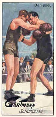 1926 C.H.L. Gartmann Jack Dempsey #5 Boxing & Other Card