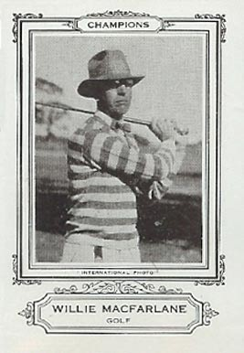 1926 Spalding Champion Golf Willie MacFarlane # Boxing & Other Card