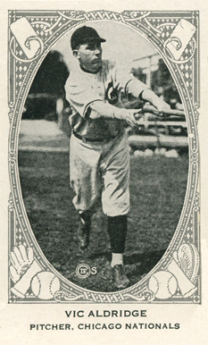 1922 Neilson's Chocolate (Type 2) Vic Aldridge #2 Baseball Card