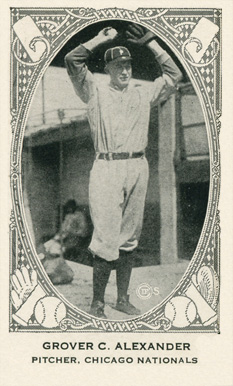 1922 Neilson's Chocolate (Type 2) Grover Alexander #3 Baseball Card
