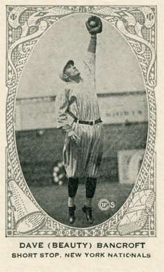 1922 Neilson's Chocolate (Type 2) Dave Bancroft #4 Baseball Card