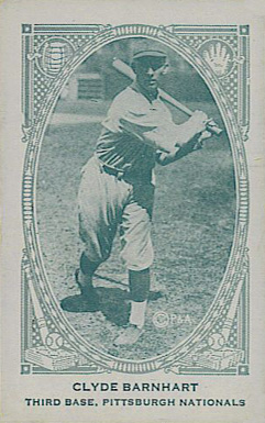 1922 Neilson's Chocolate (Type 2) Clyde Barnhart #5 Baseball Card
