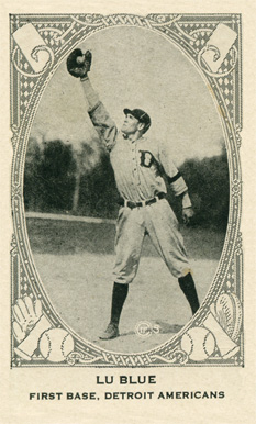 1922 Neilson's Chocolate (Type 2) Lu Blue #7 Baseball Card
