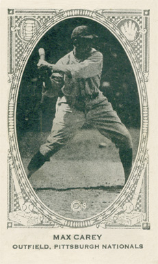 1922 Neilson's Chocolate (Type 2) Max Carey #15 Baseball Card