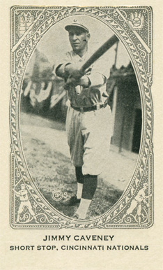 1922 Neilson's Chocolate (Type 2) Jimmy Caveney #16 Baseball Card