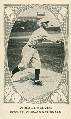 1922 Neilson's Chocolate (Type 2) Virgil Cheeves #17 Baseball Card
