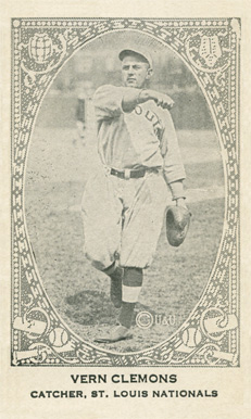 1922 Neilson's Chocolate (Type 2) Vern Clemons #18 Baseball Card