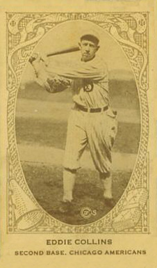 1922 Neilson's Chocolate (Type 2) Eddie Collins #21 Baseball Card