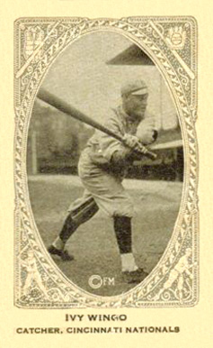 1922 Neilson's Chocolate (Type 2) Ivy Wingo #116 Baseball Card