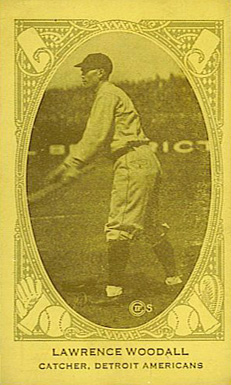 1922 Neilson's Chocolate (Type 2) Lawrence Woodall #117 Baseball Card