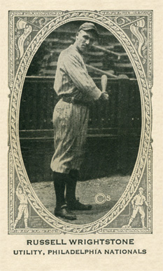 1922 Neilson's Chocolate (Type 2) Russell Wrightstone #118 Baseball Card