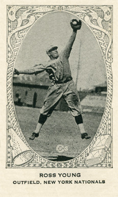 1922 Neilson's Chocolate (Type 2) Ross Youngs #119 Baseball Card