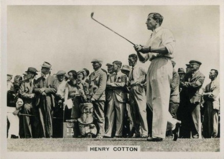 1936 Ardath Tobacco Photo Henry  Cotton #150 Boxing & Other Card