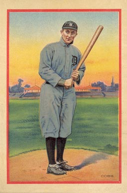 1910 Notebook Covers Ty Cobb Baseball Vcp Price Guide