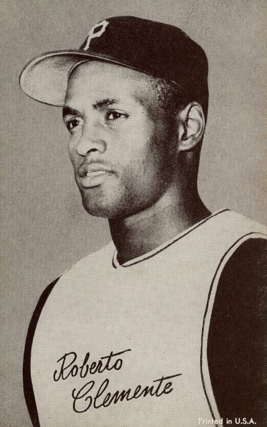 1962 Exhibits Roberto Clemente #9r Baseball Card