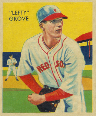 1935 Diamond Stars  Lefty Grove #1 Baseball Card